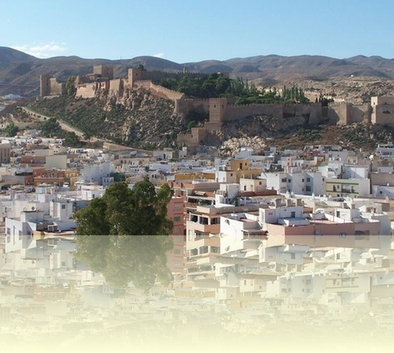 The Alcazaba in Almeria city