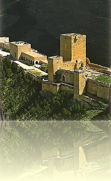 The castle at Jaén