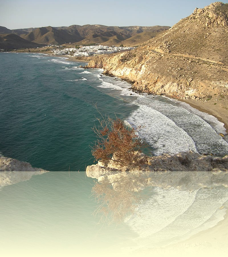 The beach at Cabo de Gata