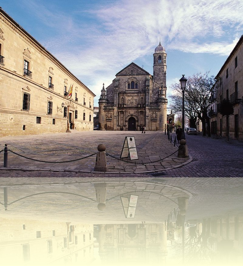 The Vazquez de Molina square in Ubeda
